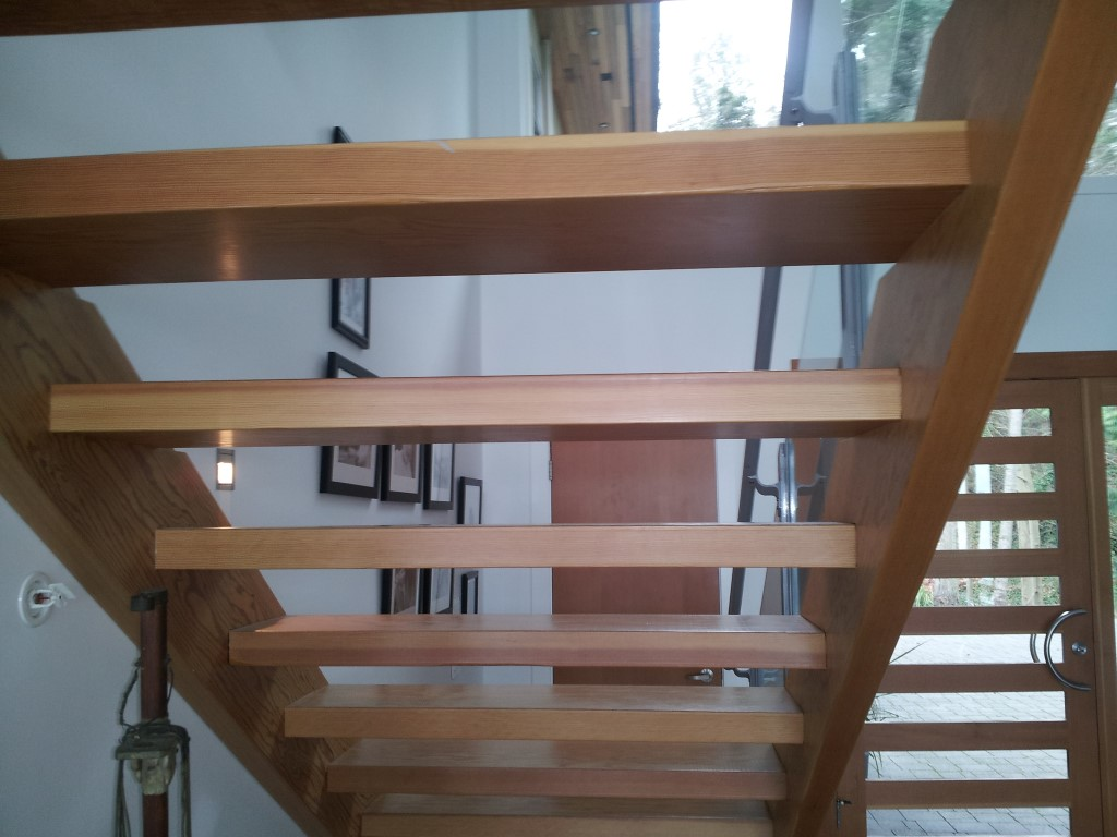 Interior Custom Wood Stairs